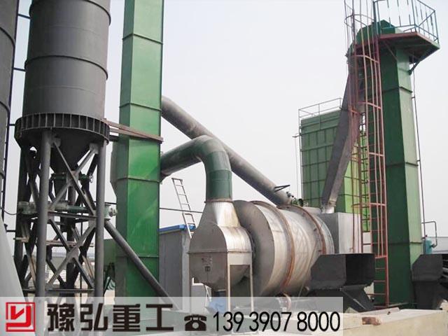 江苏客户订购的节能环保型沙子干燥机已安装完毕
